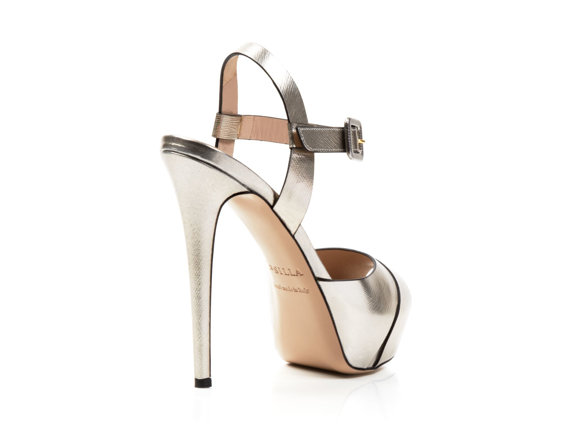strappy sandals - Metallic Le Silla gSLhqbF