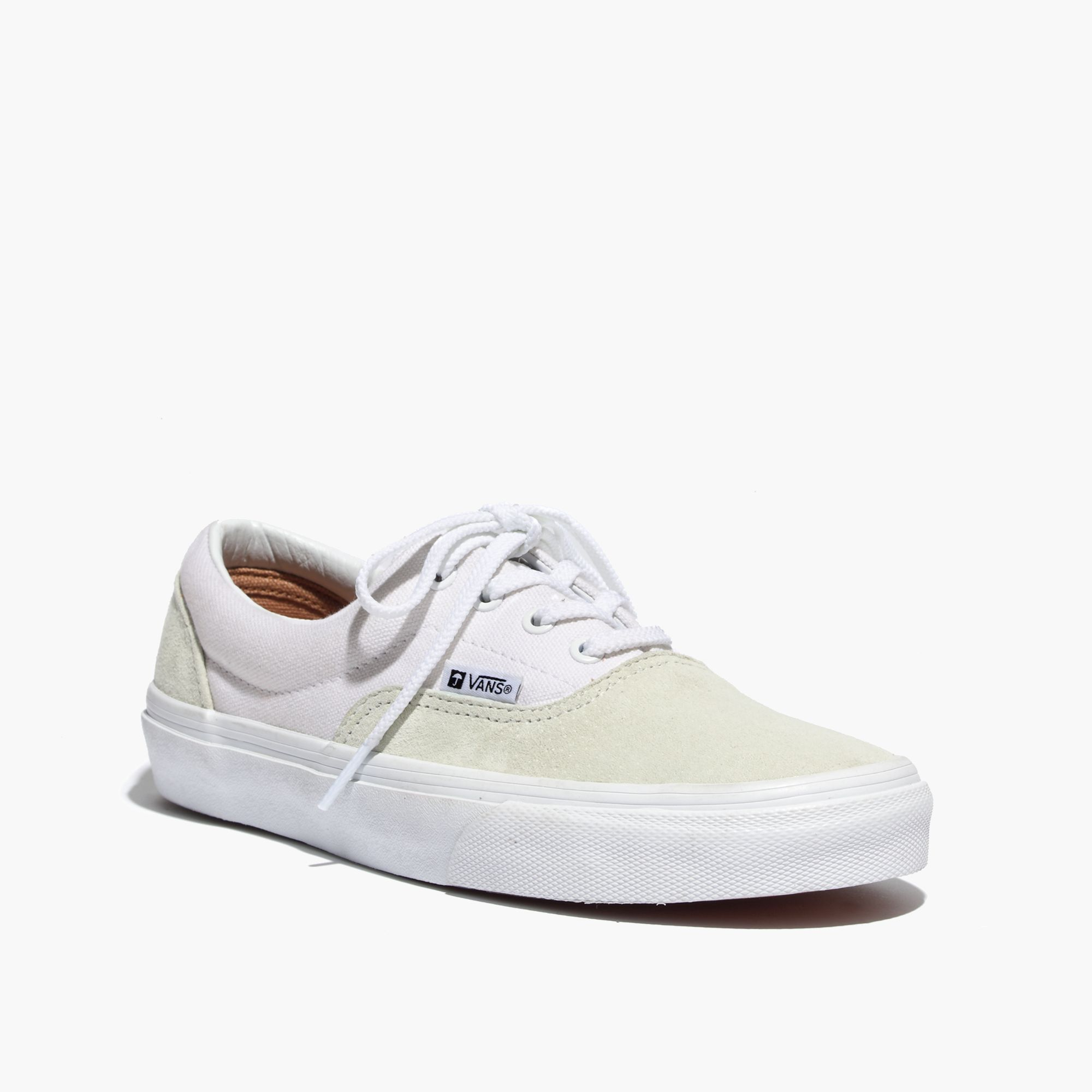 Lyst Madewell Vans Era Ca Lace Up Sneakers In Suede And Canvas In