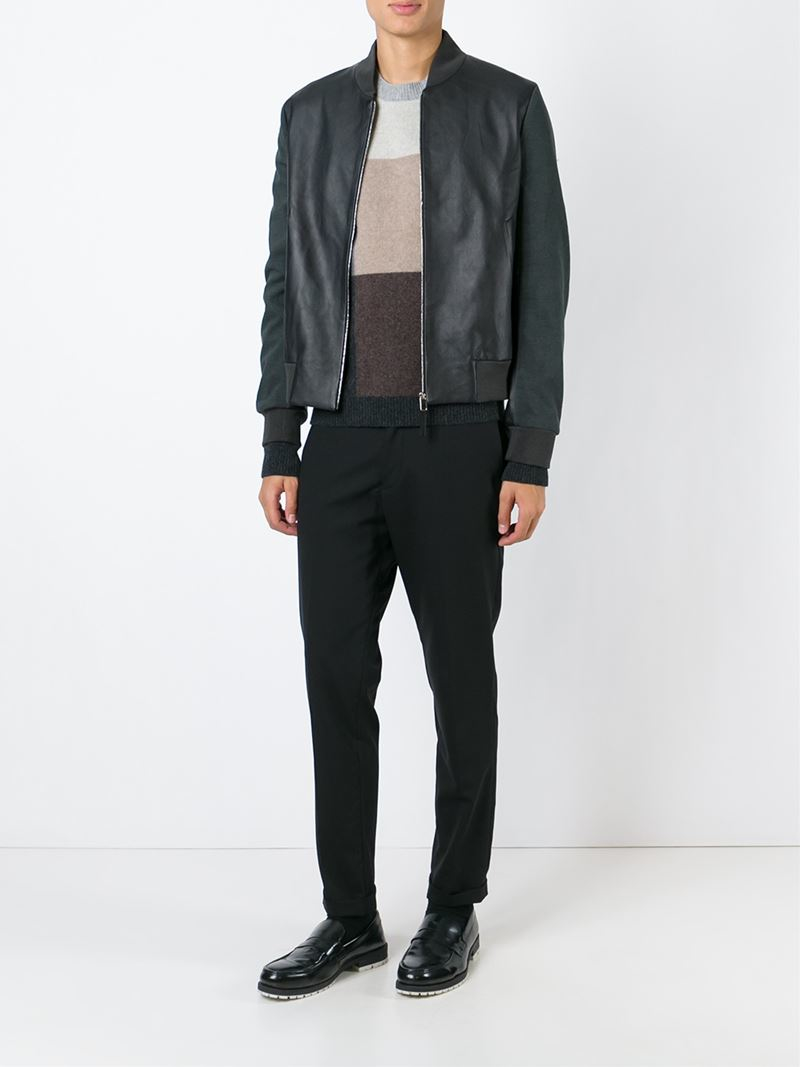 Cole Haan Men S Leather Jacket