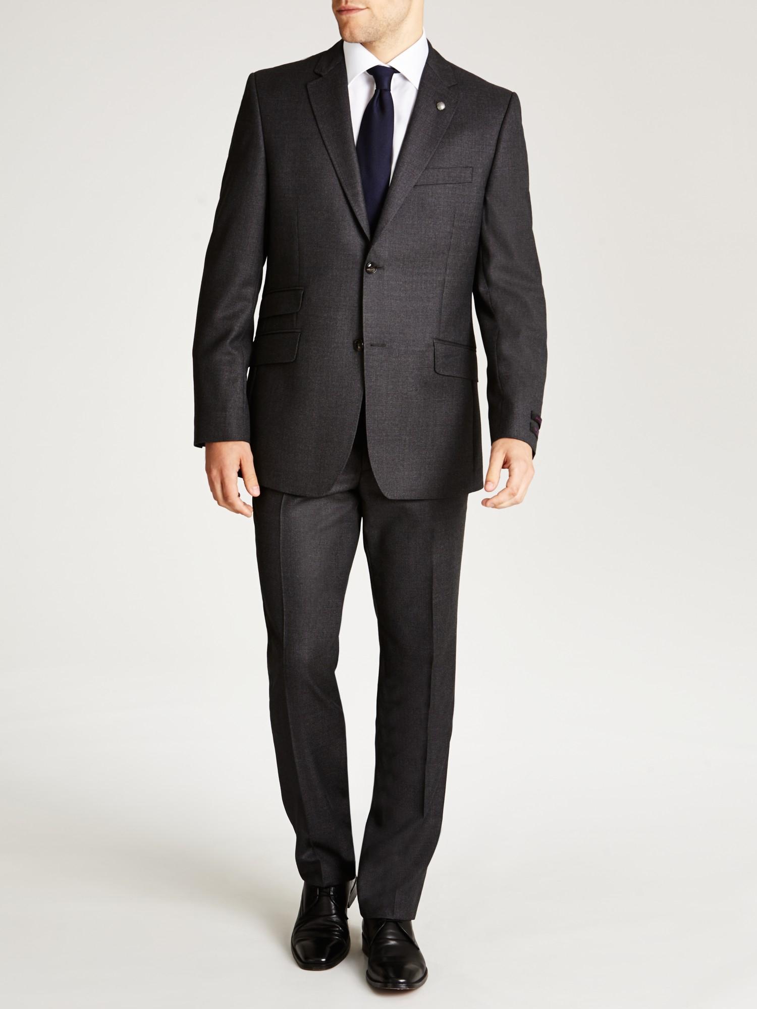 c810b5da2732 Ted Baker Endurance Foxdale Sterling Birdseye Tailored Suit Jacket ...
