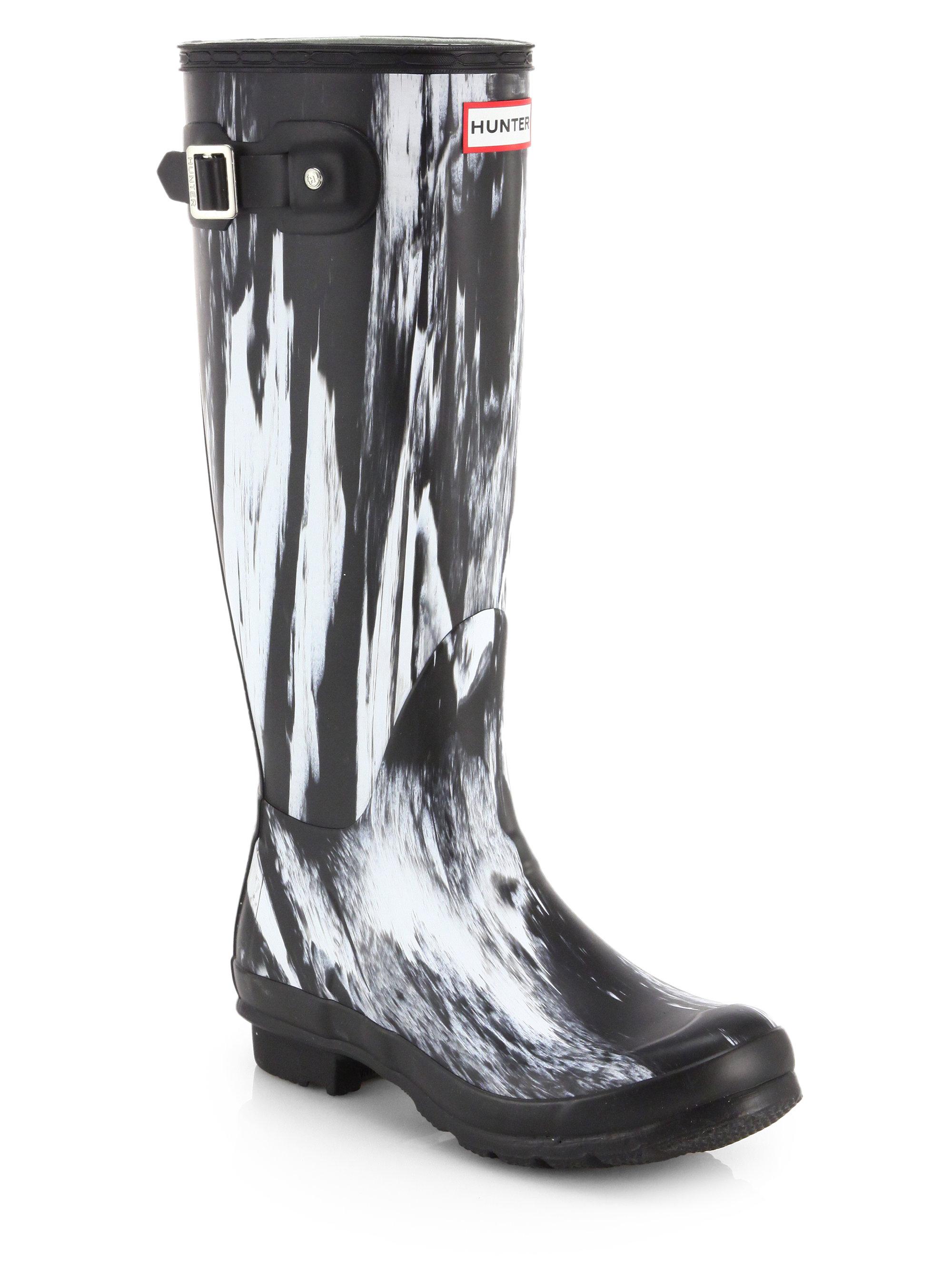 Lyst - Hunter Original Nightfall Wellington Boots In Black-9729