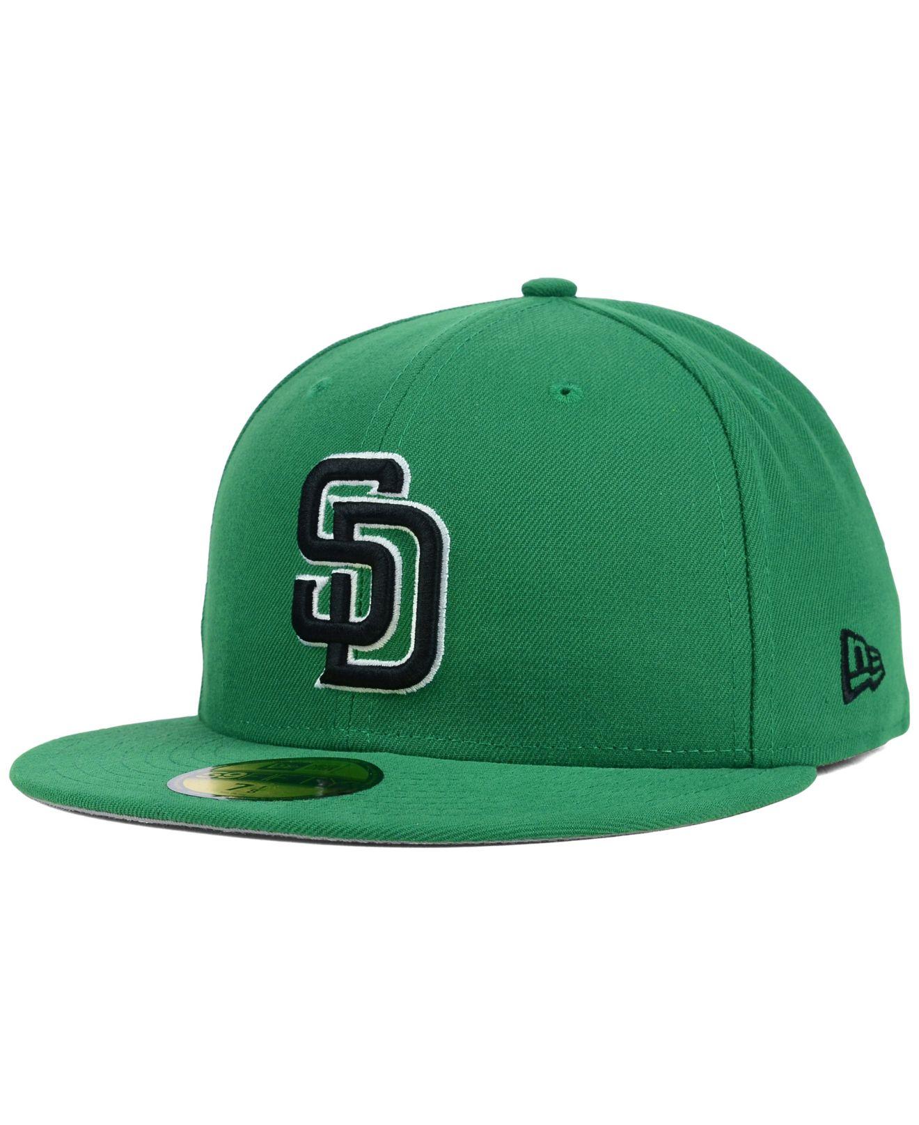 511caee3e31 ... spain lyst ktz san diego padres c dub 2.0 59fifty cap in green for men  0e2ca