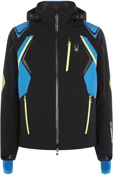 Spyder Pinnacle Jacket In Black For Men Lyst