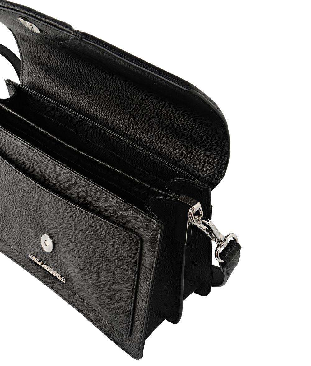 lyst karl lagerfeld k klassik shoulderbag in black. Black Bedroom Furniture Sets. Home Design Ideas