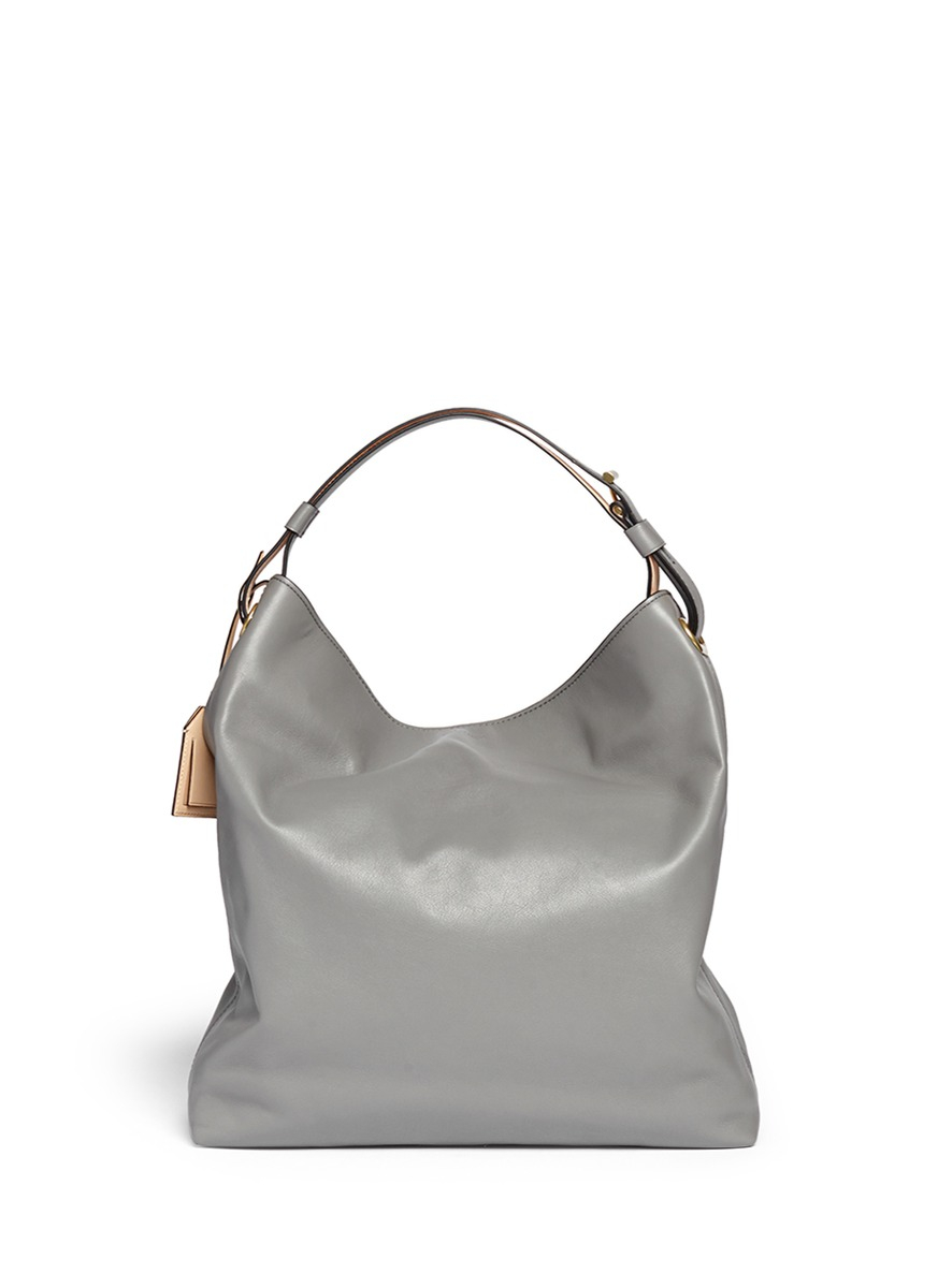 e9a71fcea74b Lyst - Reed Krakoff  Rdk Hobo  Leather Tote in Gray