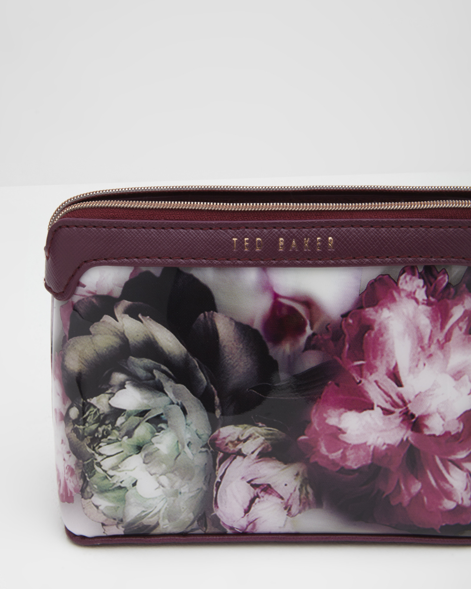 cb78bc6c08b7 Lyst - Ted Baker Ethereal Posie Makeup Bag in Purple