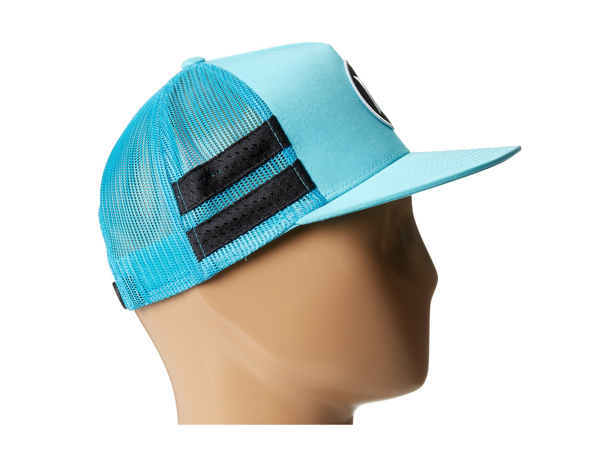 half off 11cae 18641 ... greece lyst hurley block party movement trucker hat in blue for men  b390d 86930