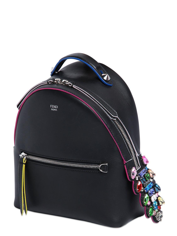 Lyst - Fendi Mini Backpack in Black 0c21c3e89761c
