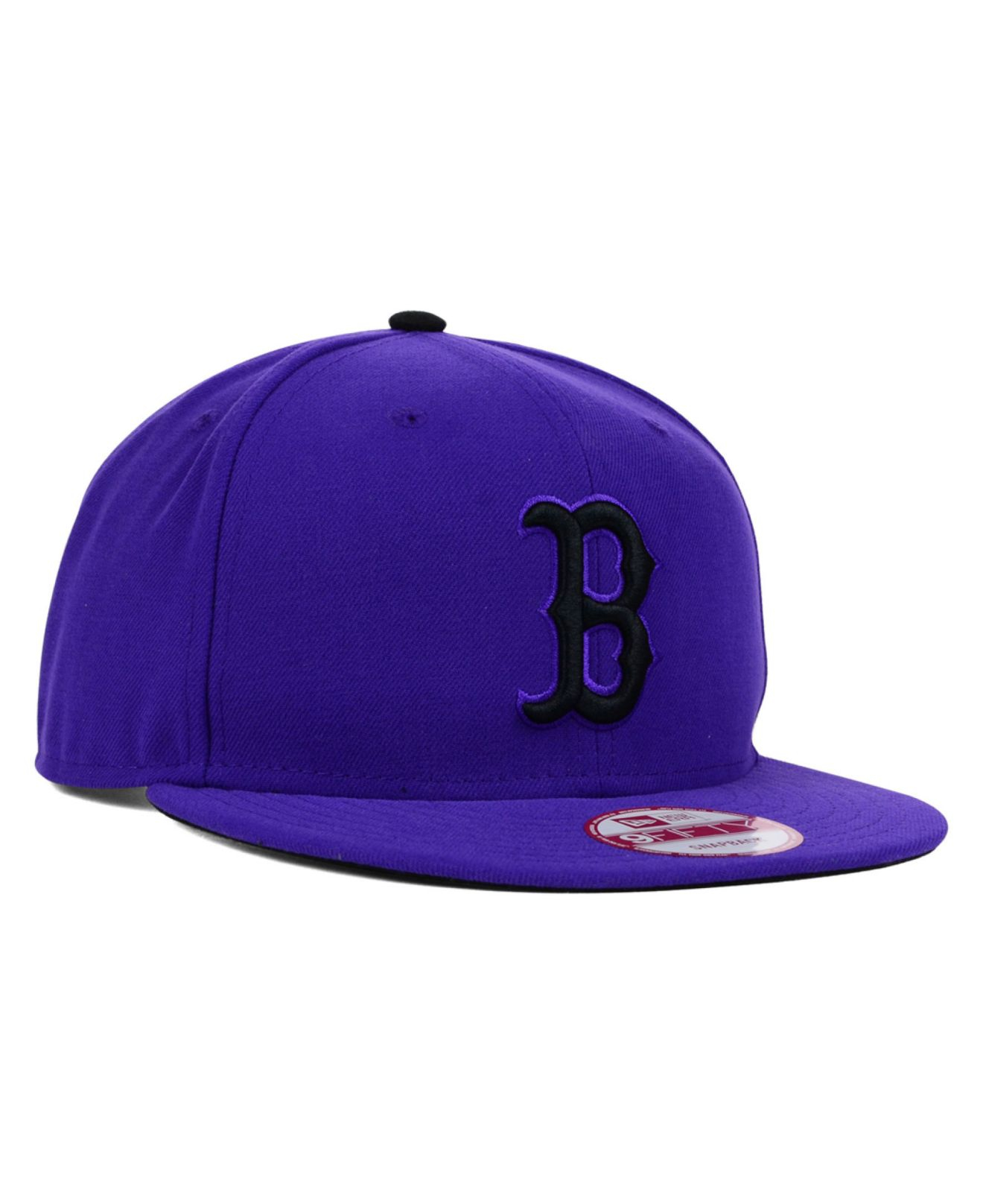 Lyst - KTZ Boston Red Sox Snap-Dub 9Fifty Snapback Cap in Purple for Men 785932a25700