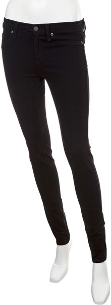 Rag & Bone Twill Legging Pants in Black