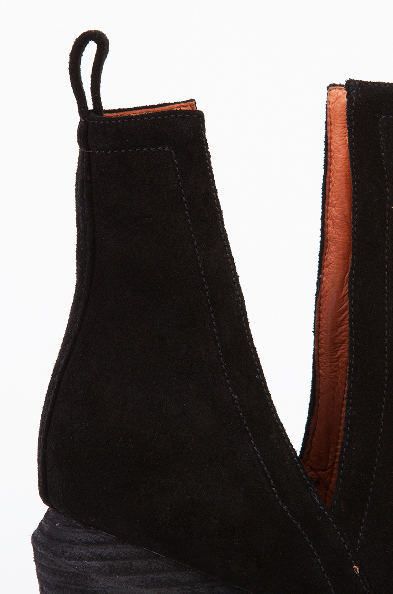 Lyst Jeffrey Campbell Orwell 2 Open Side Ankle Boots