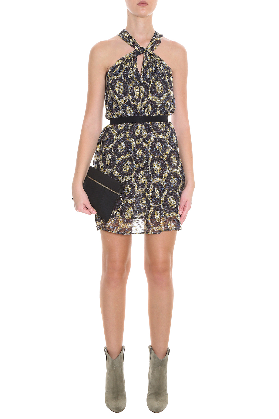 Lyst Isabel Marant Tevy Dress In Black