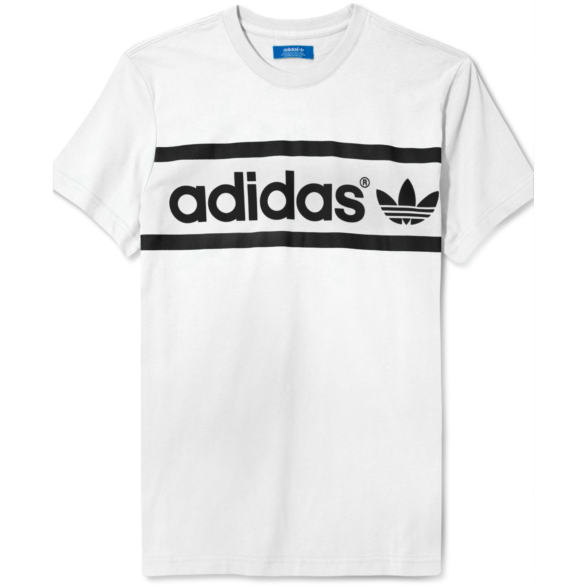 Lyst Adidas Originals Heritage Logo T Shirt In Green For Men
