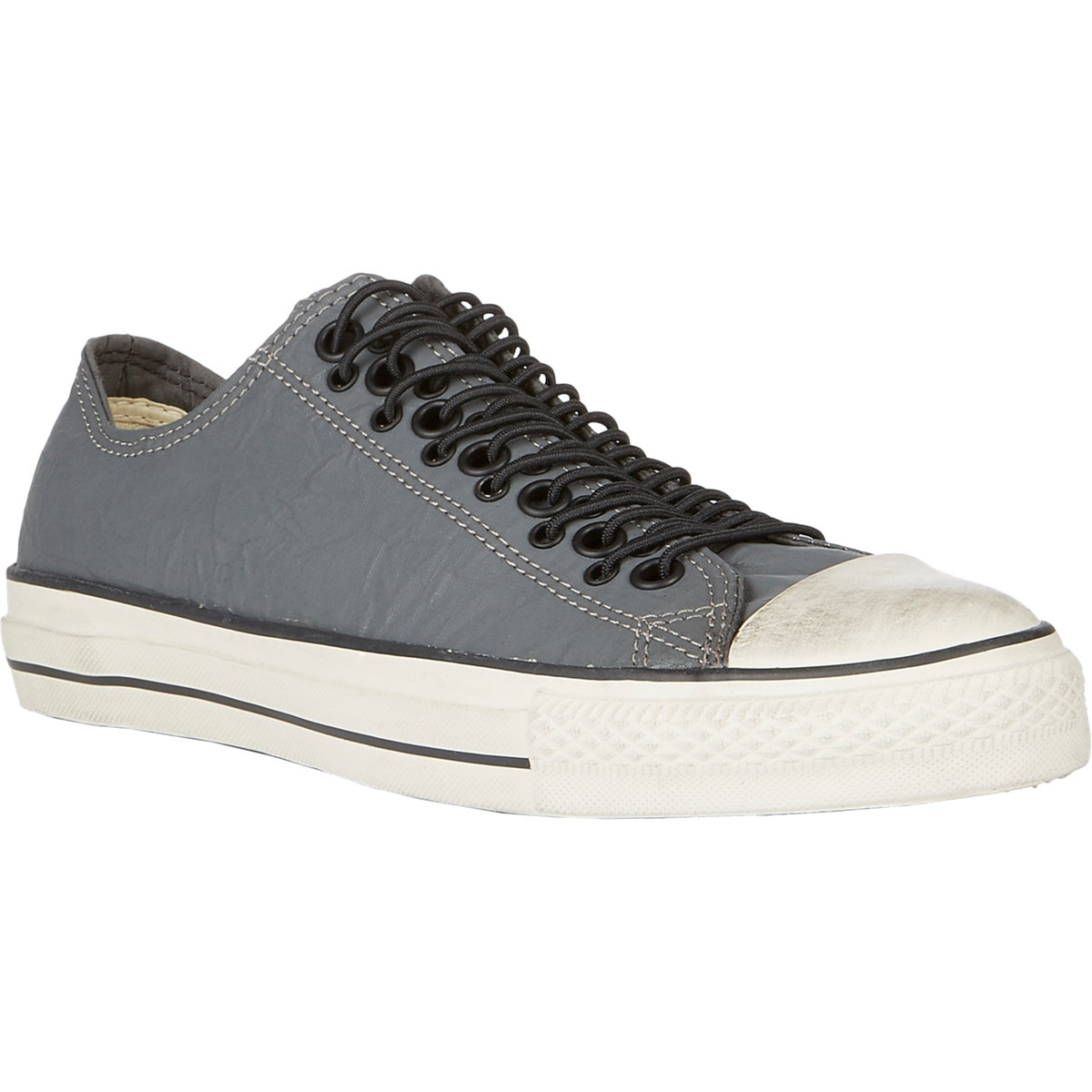 bb505cf19a3 Converse Multi-Eyelet Chuck Taylor Sneakers in Gray for Men - Lyst