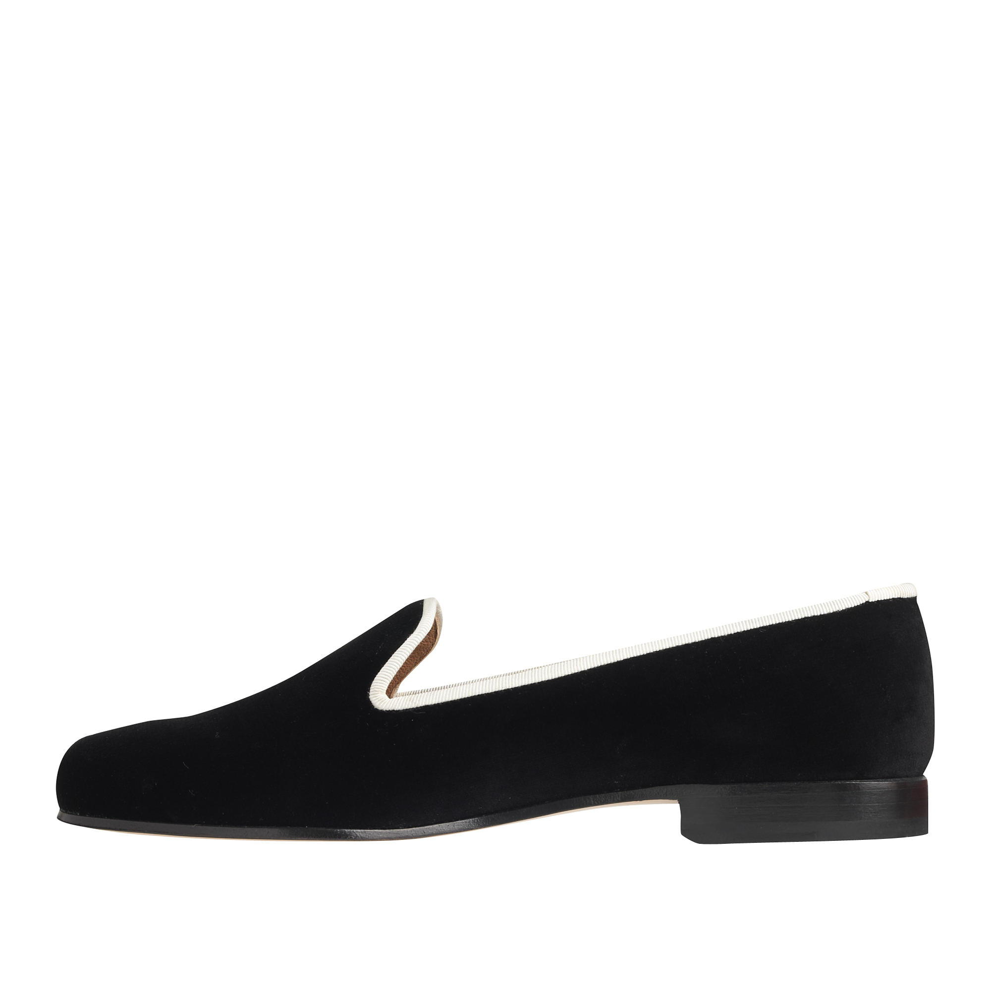 Stubbs wootton i do slippers in black lyst for J crew bedroom slippers