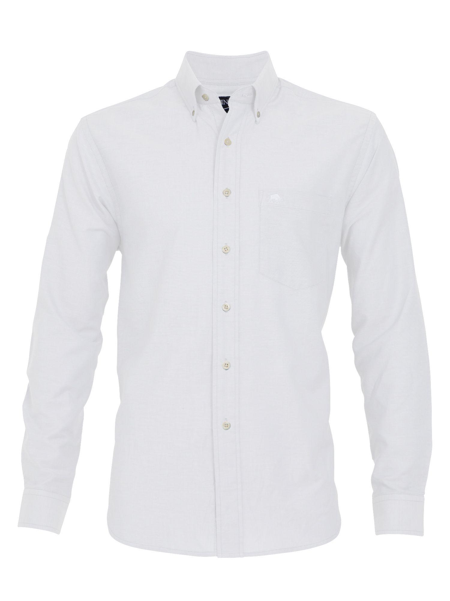 Lyst raging bull big and tall oxford shirt white in for Big and tall oxford shirts