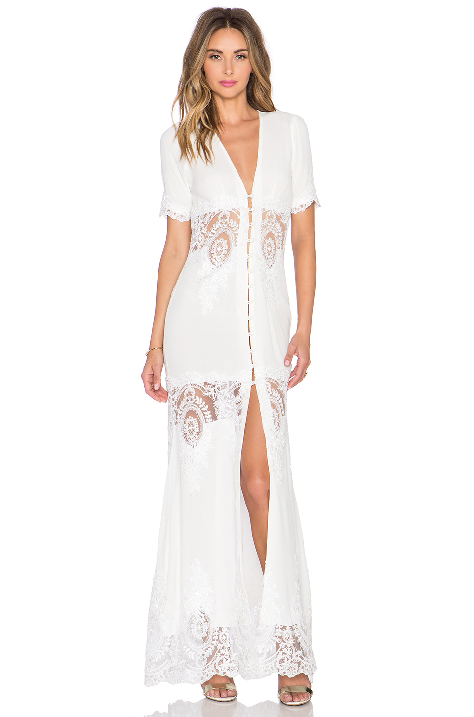 Stone Cold Fox White Dress – fashion dresses