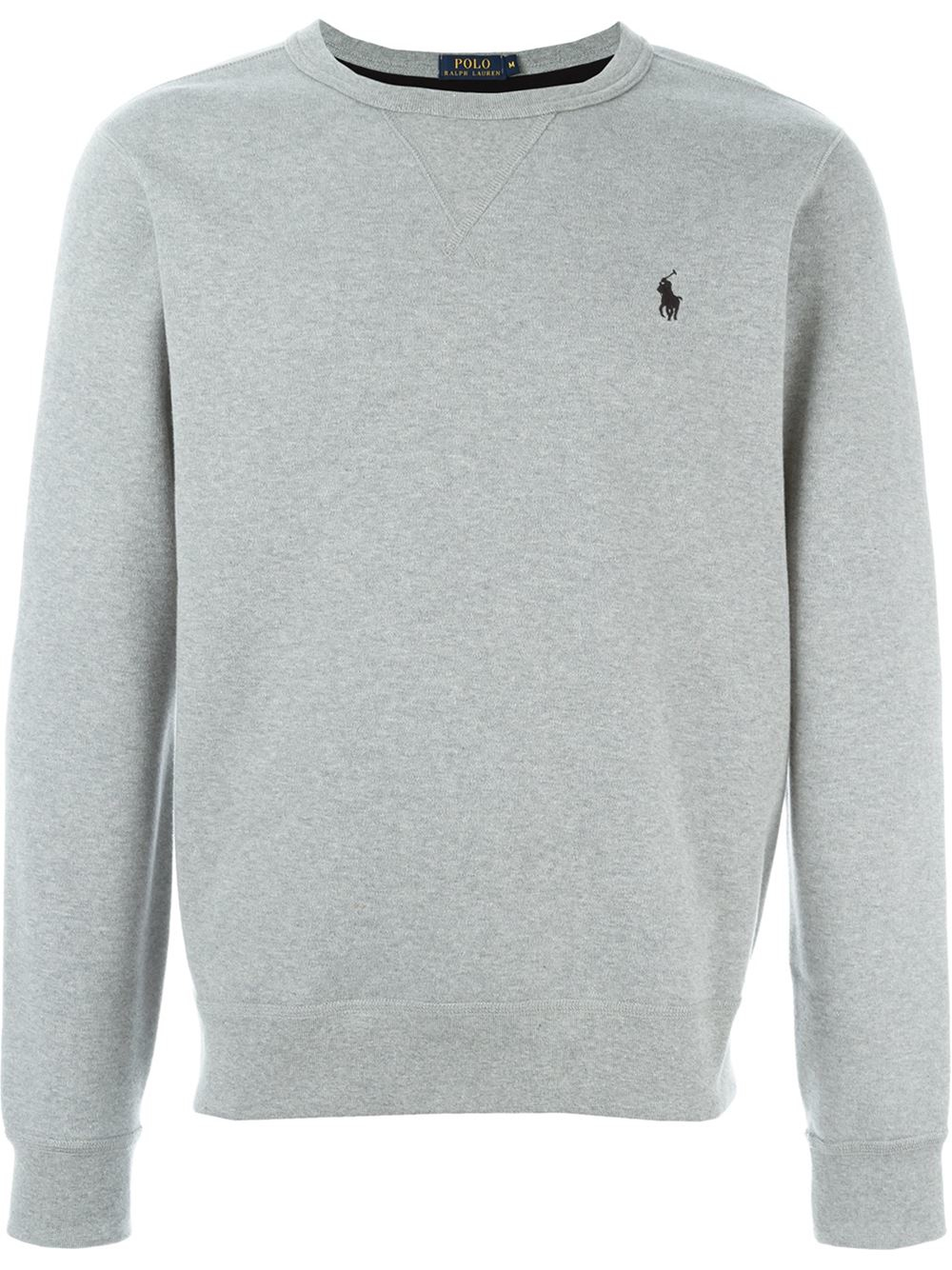 14a26c1aa Polo Ralph Lauren Crew Neck Sweatshirt in Gray for Men - Lyst