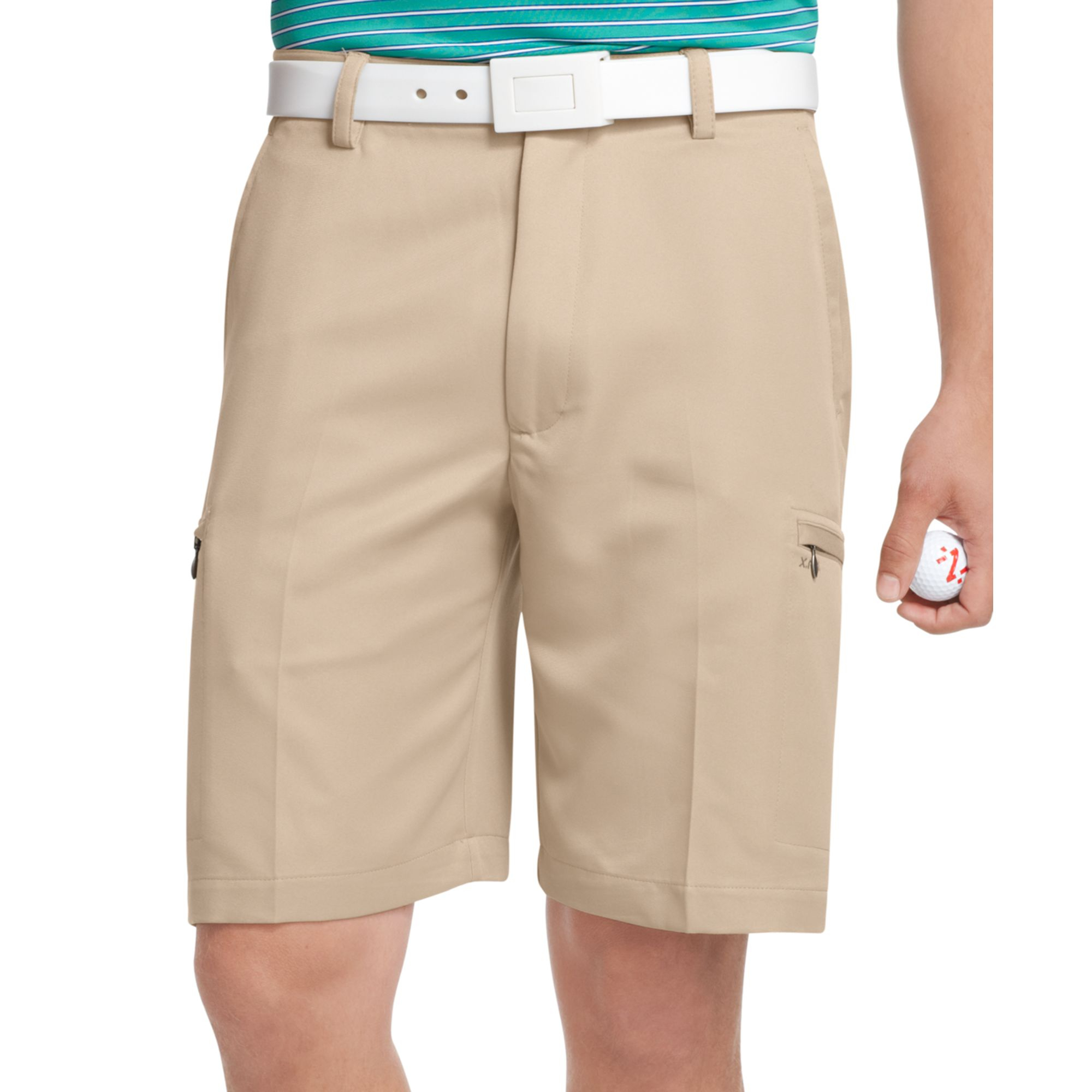 Khaki Golf Shorts - The Else