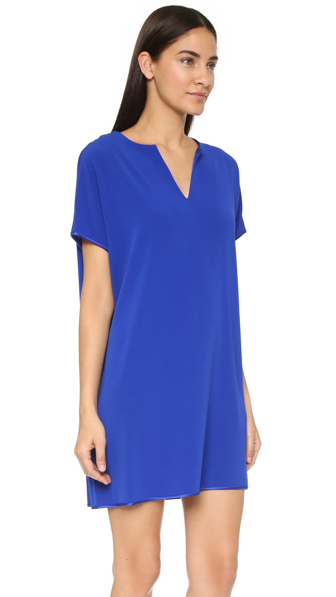 Diane von furstenberg Kora Dress - Cosmic Cobalt in Blue - Lyst