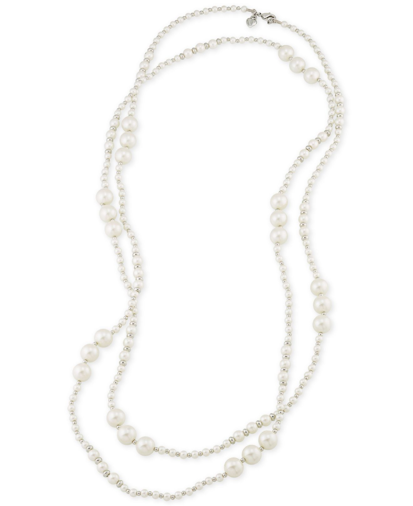 Carolee Silver Tone Imitation Pearl Long Rope Necklace Silver furthermore Sylva Cie Diamond Pave Link Bracelet Silver likewise Stephen Webster Les Dents De La Mer Bracelet Black likewise Alex And Ani French Royalty Bangle Russian Silver together with Sylva Cie Diamond Oval Link Bracelet Whtgold. on cie jewelry bracelets