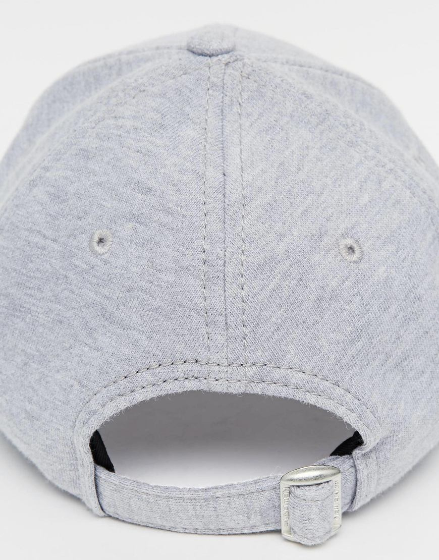 58ff9bc5d36 ... buy lyst ktz 9forty new york yankees jersey cap in gray cdcbc a8a95
