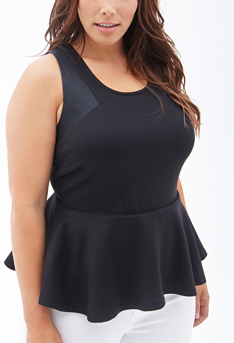 Find black leather peplum top at ShopStyle. Shop the latest collection of black leather peplum top from the most popular stores - all in one place.