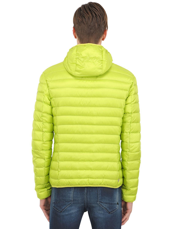 Lyst Colmar Nylon Down Jacket In Green For Men