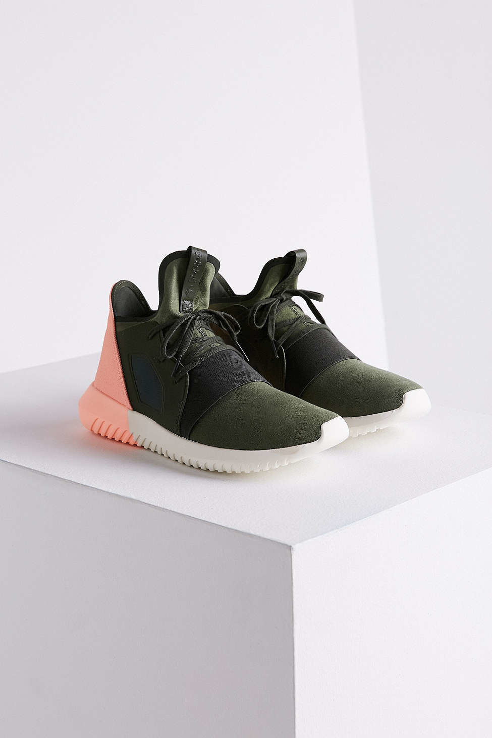 Lyst - adidas Originals Color-Blocked Neoprene and Canvas Sneakers ... 00d60a793086