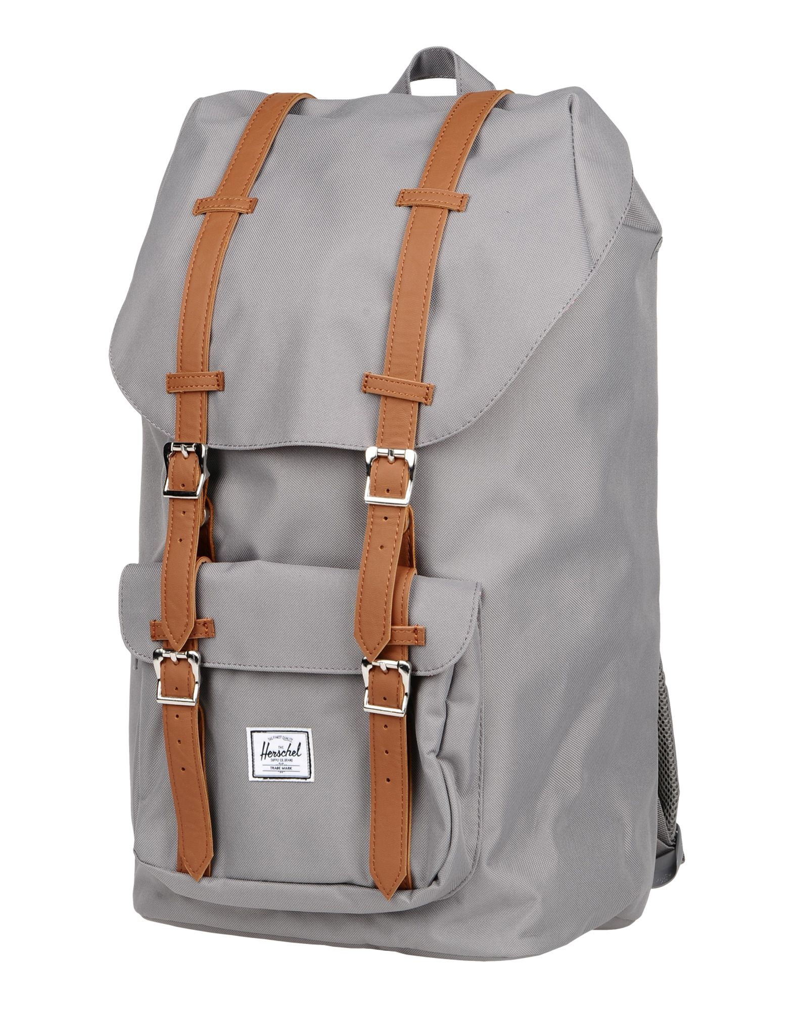 herschel supply co backpacks fanny packs in gray lyst. Black Bedroom Furniture Sets. Home Design Ideas