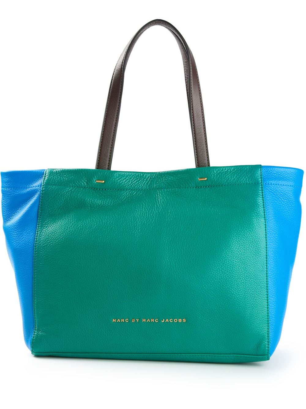 Marc by marc jacobs Whats The T Tote in Green | Lyst