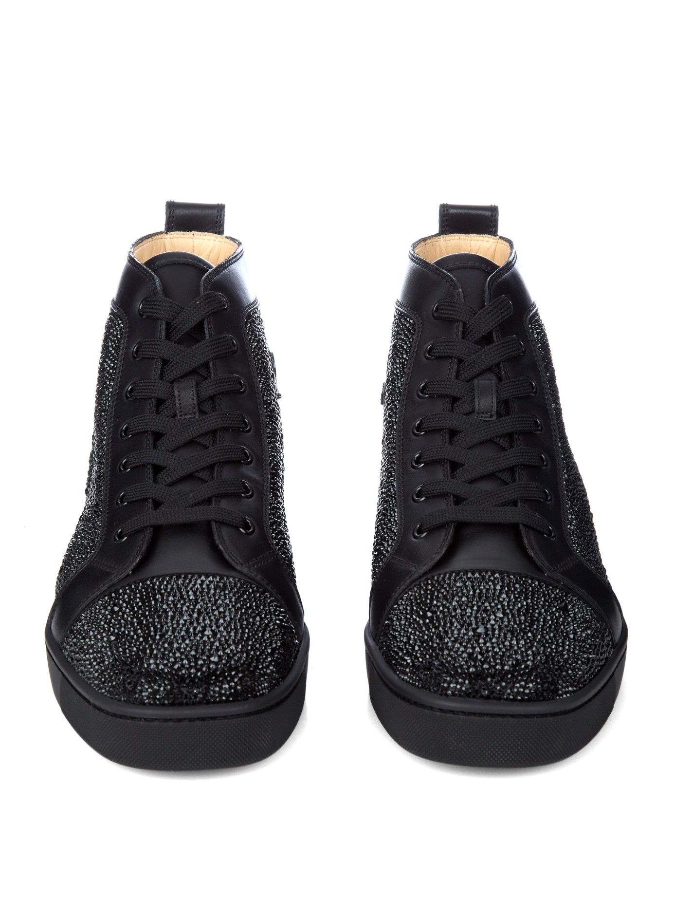 fake mens shoes christian louboutin - christian louboutin black trainers