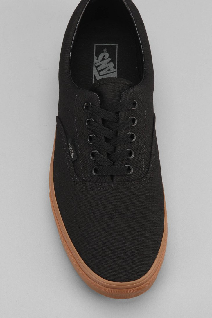 Lyst - Vans Era Gum-Sole Men S Sneaker in Black for Men 0e9d12fa0
