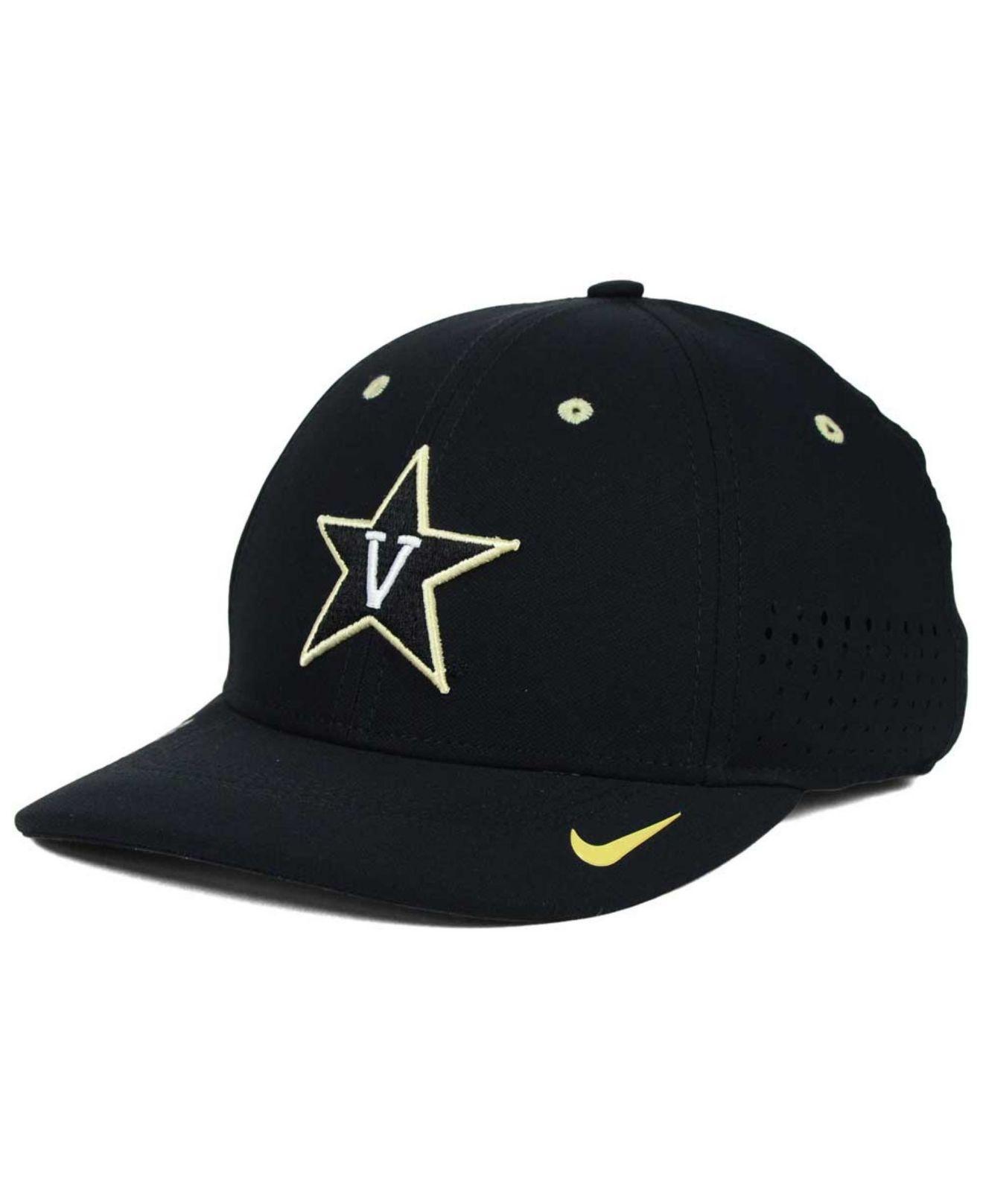 Lyst Nike Vanderbilt Modores Sideline Cap In Black For Men 8785968a79b4