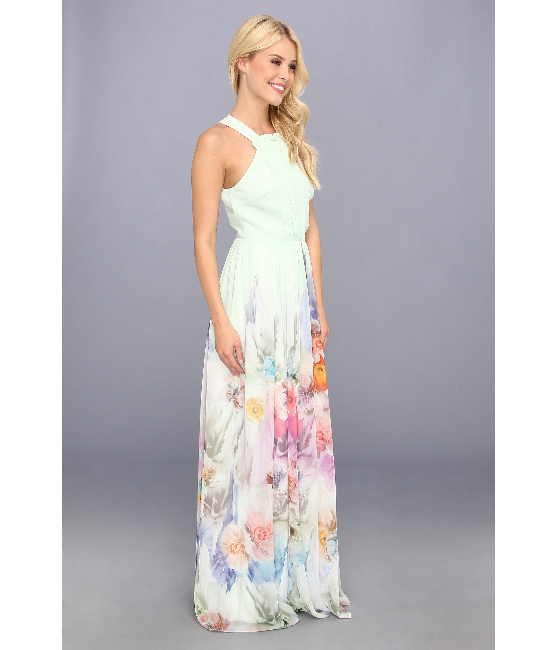 Lyst Ted Baker Beula Sugar Sweet Floral Maxi Dress