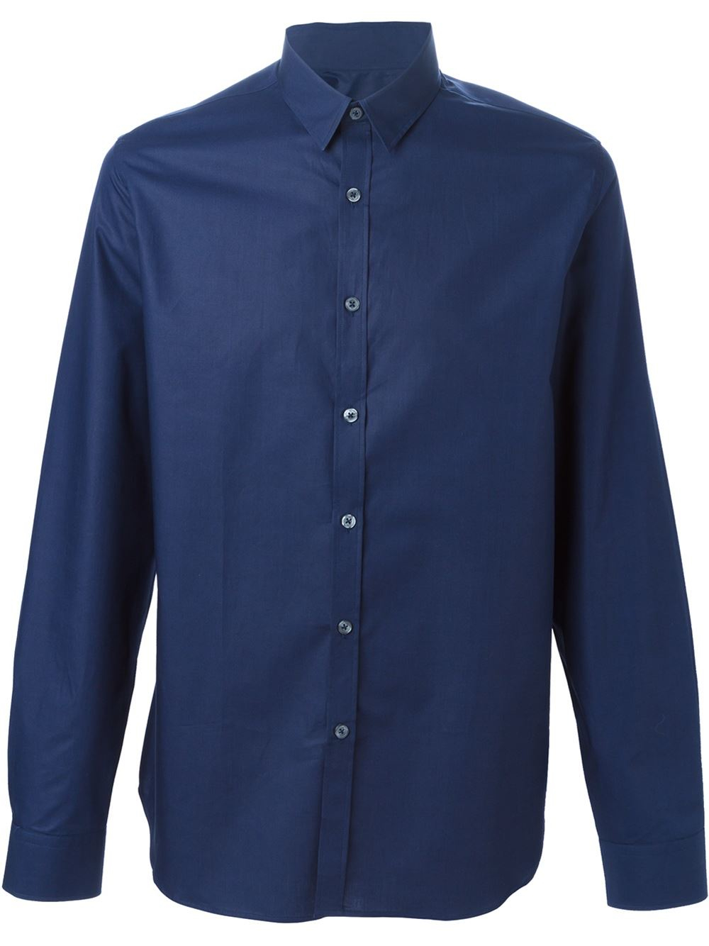 ps by paul smith classic shirt in blue for lyst