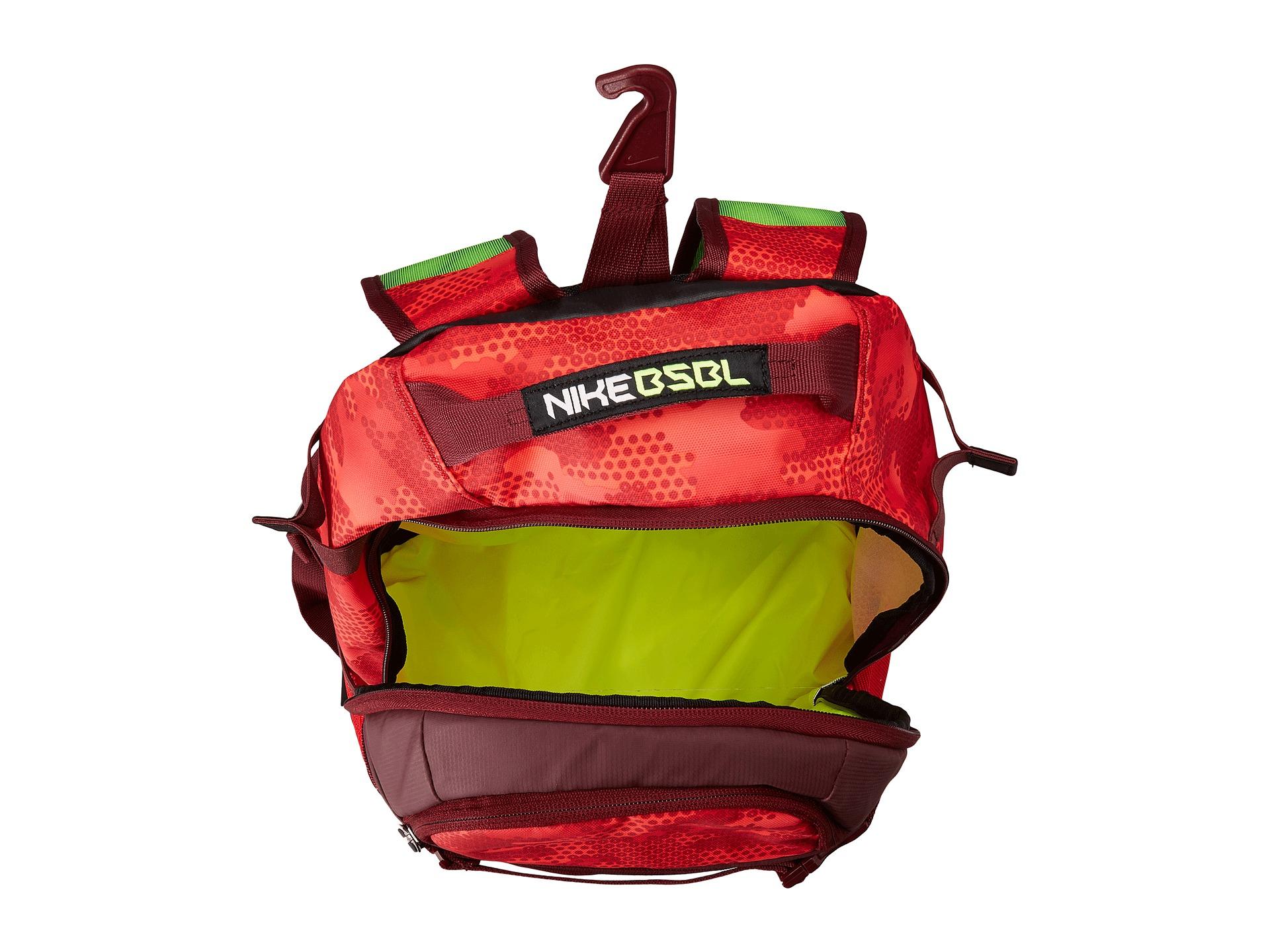 Lyst - Nike Vapor Elite Bat Backpack Graphic in Red for Men 91b570a6c87f9