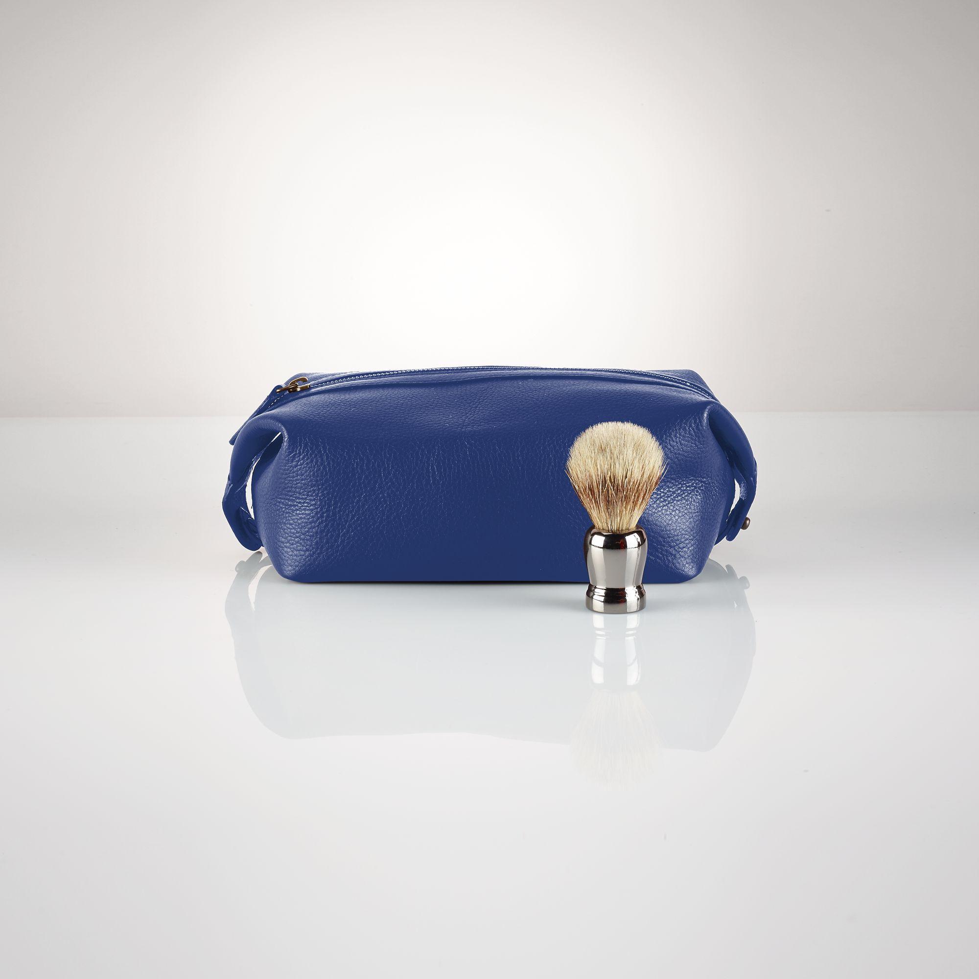 036f52798465 Polo Ralph Lauren Leather Shaving Kit in Blue for Men - Lyst