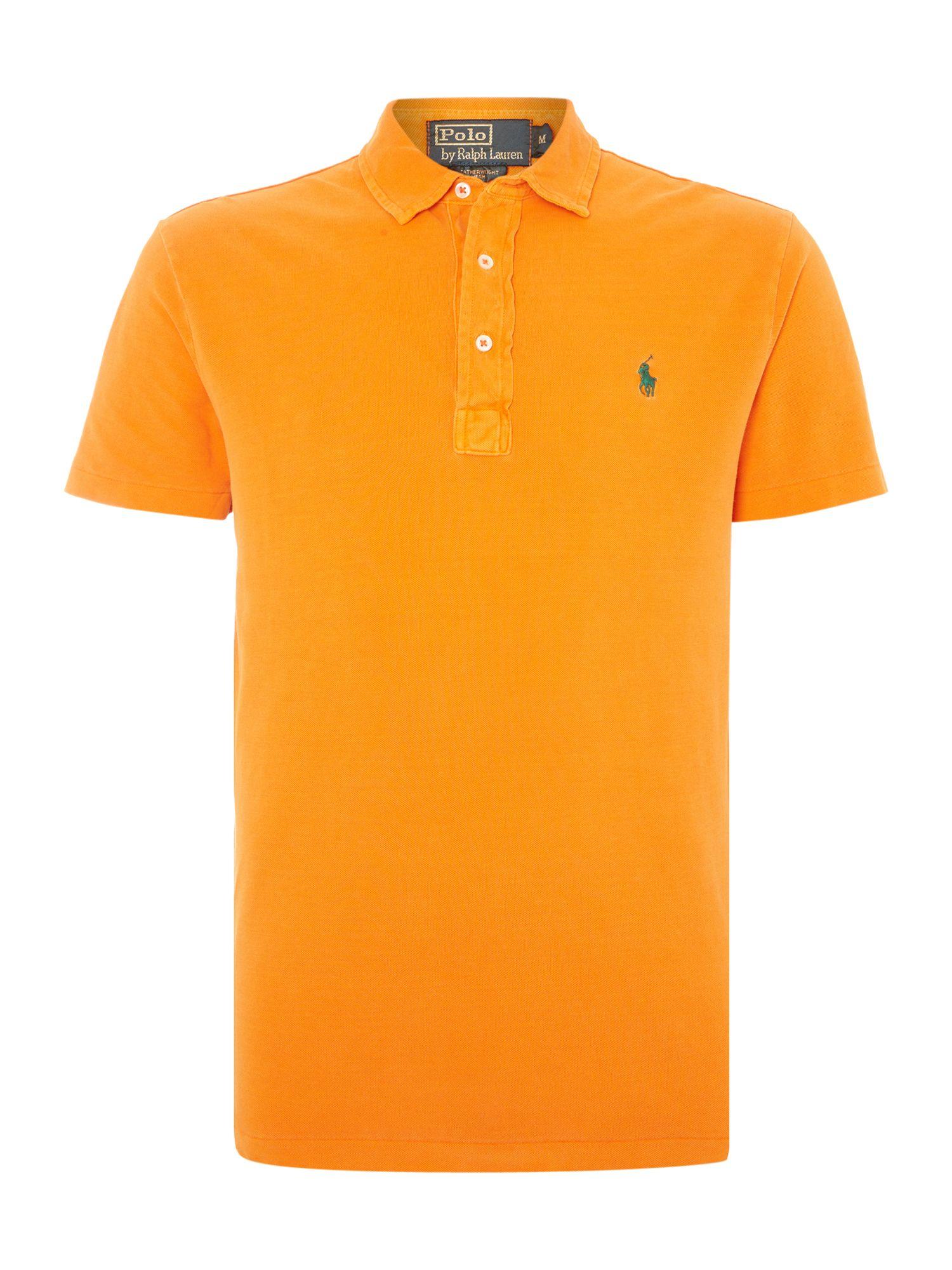 Polo ralph lauren custom fit end placket polo shirt in for Polo ralph lauren custom fit polo shirt