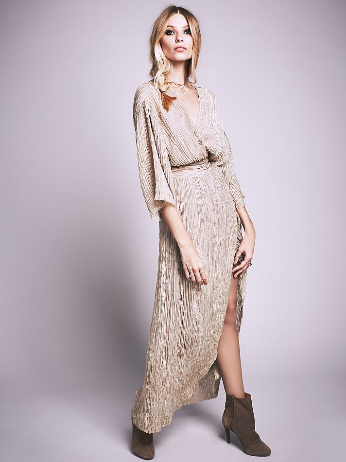 Silk Wrap Dresses