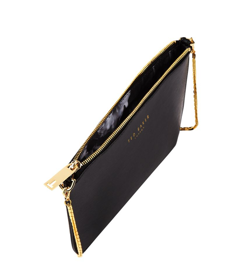 e4fe5eb7486e Ted Baker Harley Crossbody Chain Bag in Black - Lyst