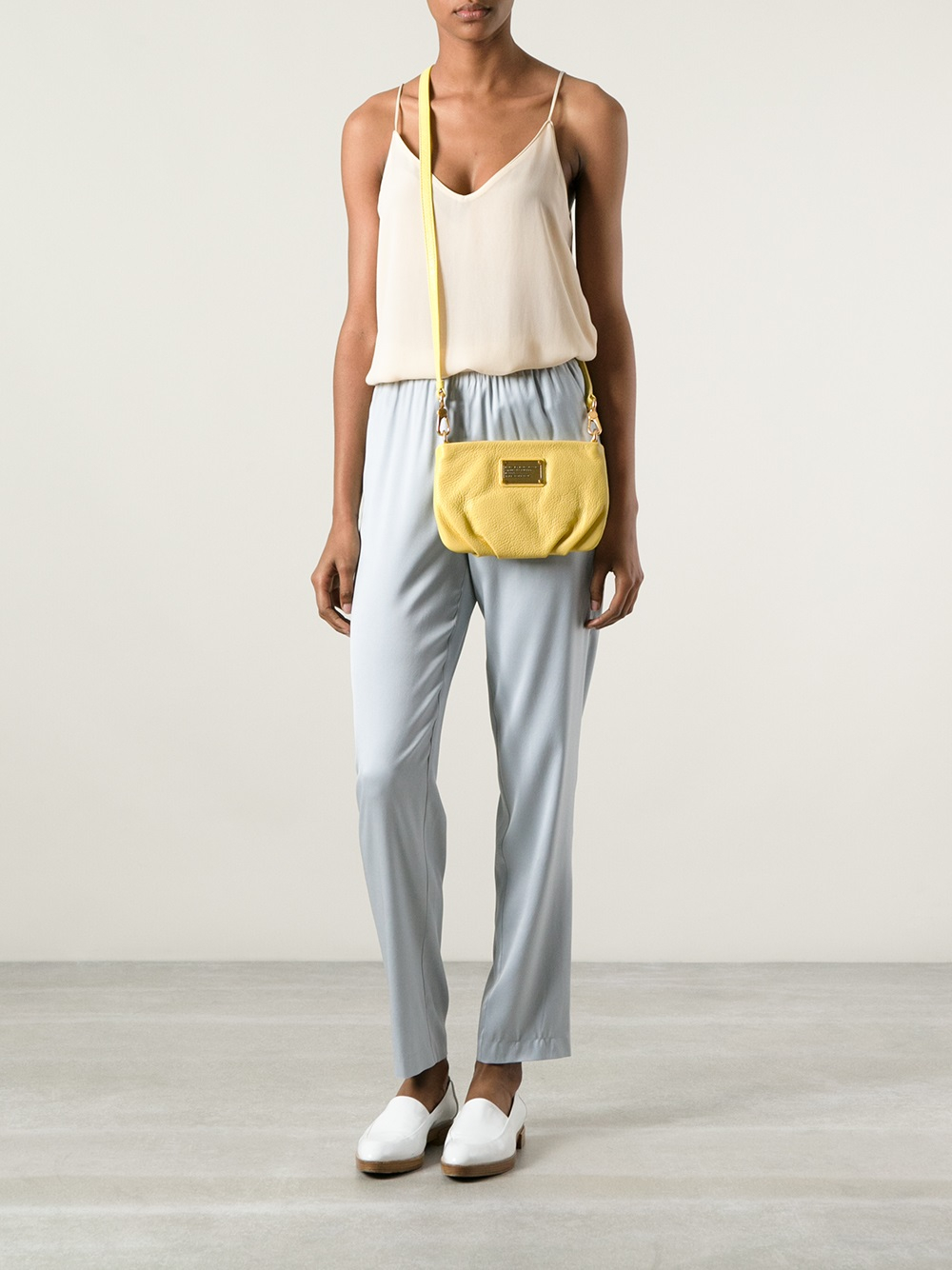 9d72c86d6729 Lyst - Marc By Marc Jacobs Classic Q Percy Crossbody Bag in Yellow