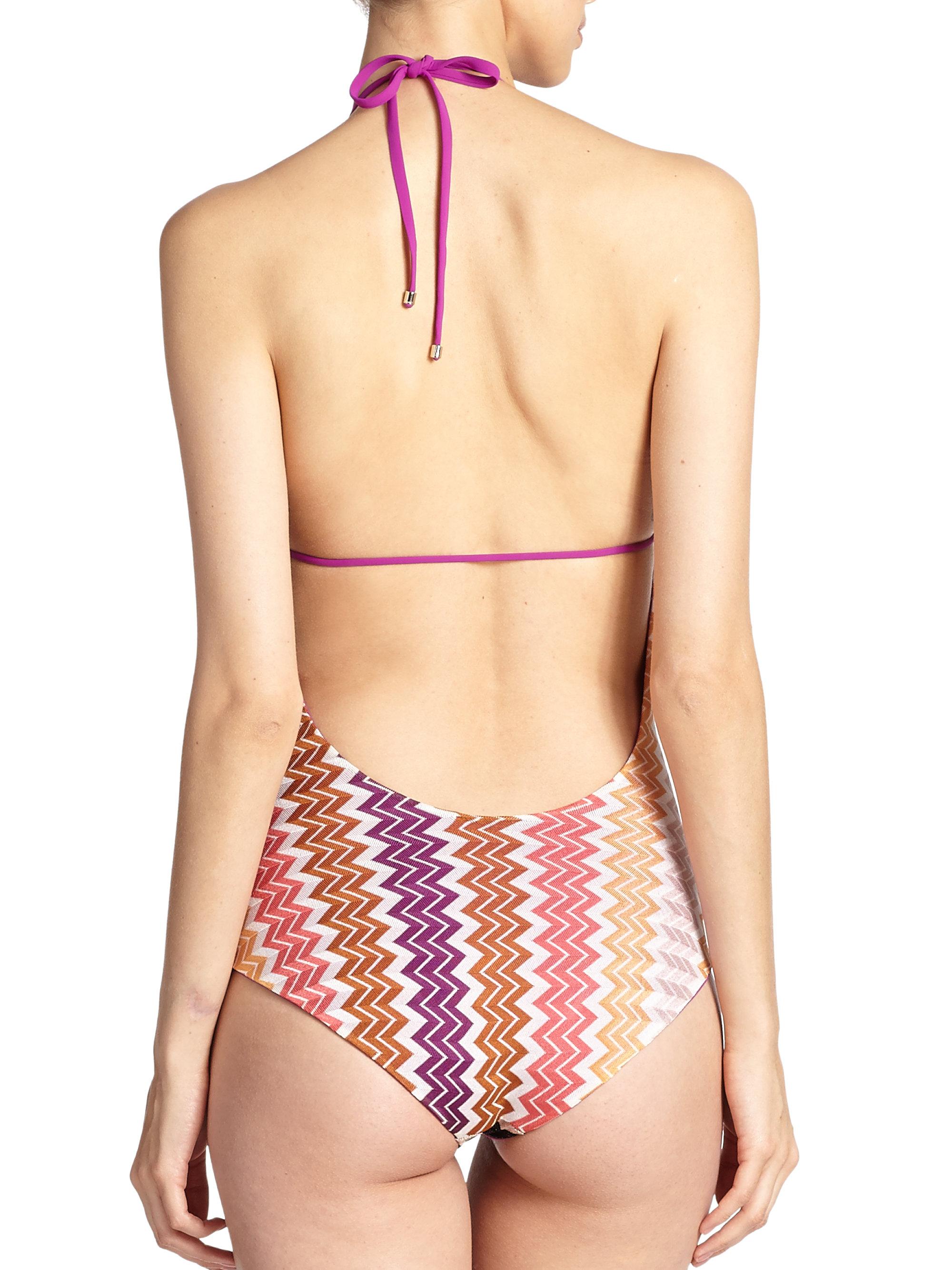 Missoni One-piece Patchwork Mare Swimsuit