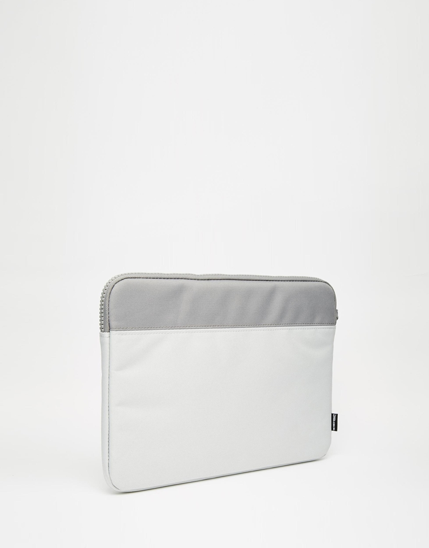 2f7fd8205b9 Lyst - Herschel Supply Co. 13 Inch Anchor Laptop Case in Gray for Men