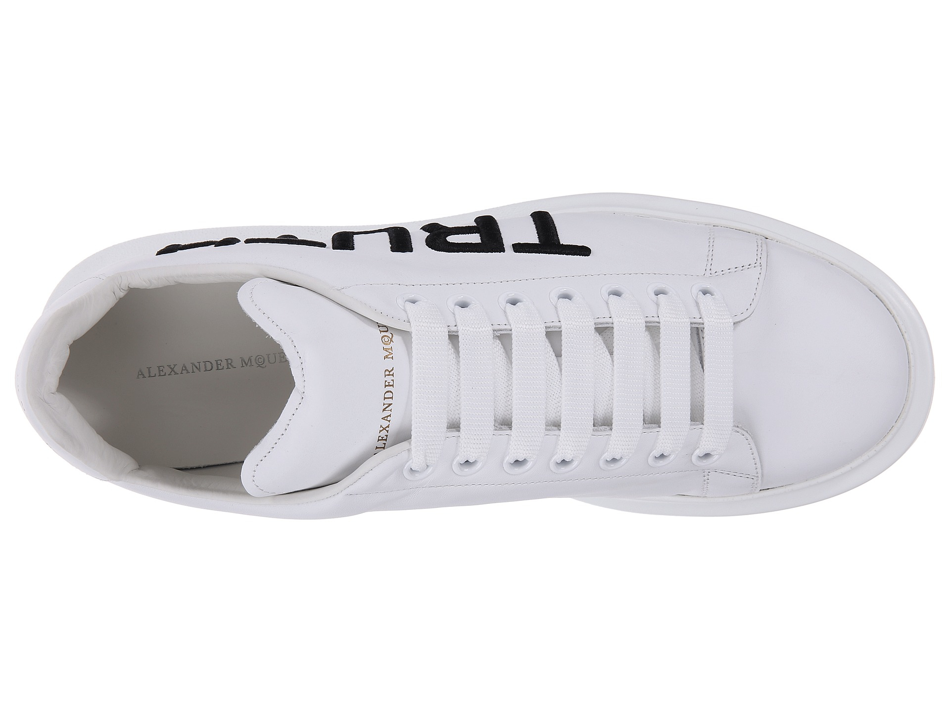 1a1d8a895da Lyst - Alexander McQueen Honor And Truth Sneaker in White for Men