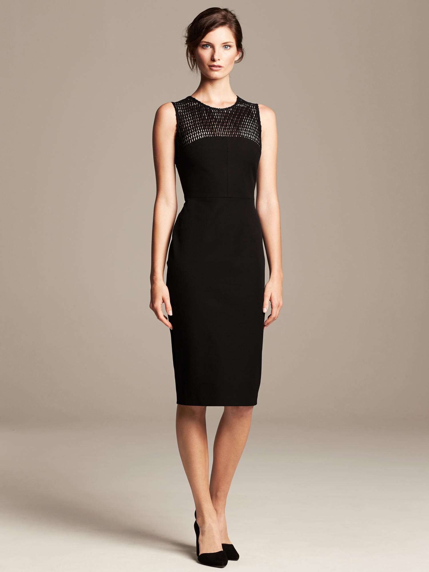 e9f9b49db23 black lace dress banana republic – Little Black Dress