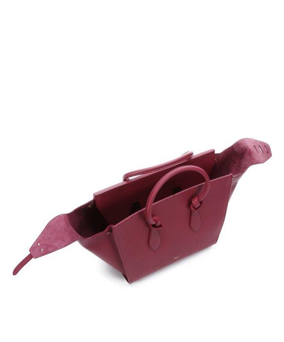 Celine Blue Leather Handbag Tie Celine Beige Bag