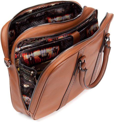 Leather Document Bag For Men Baker Leather Document Bag