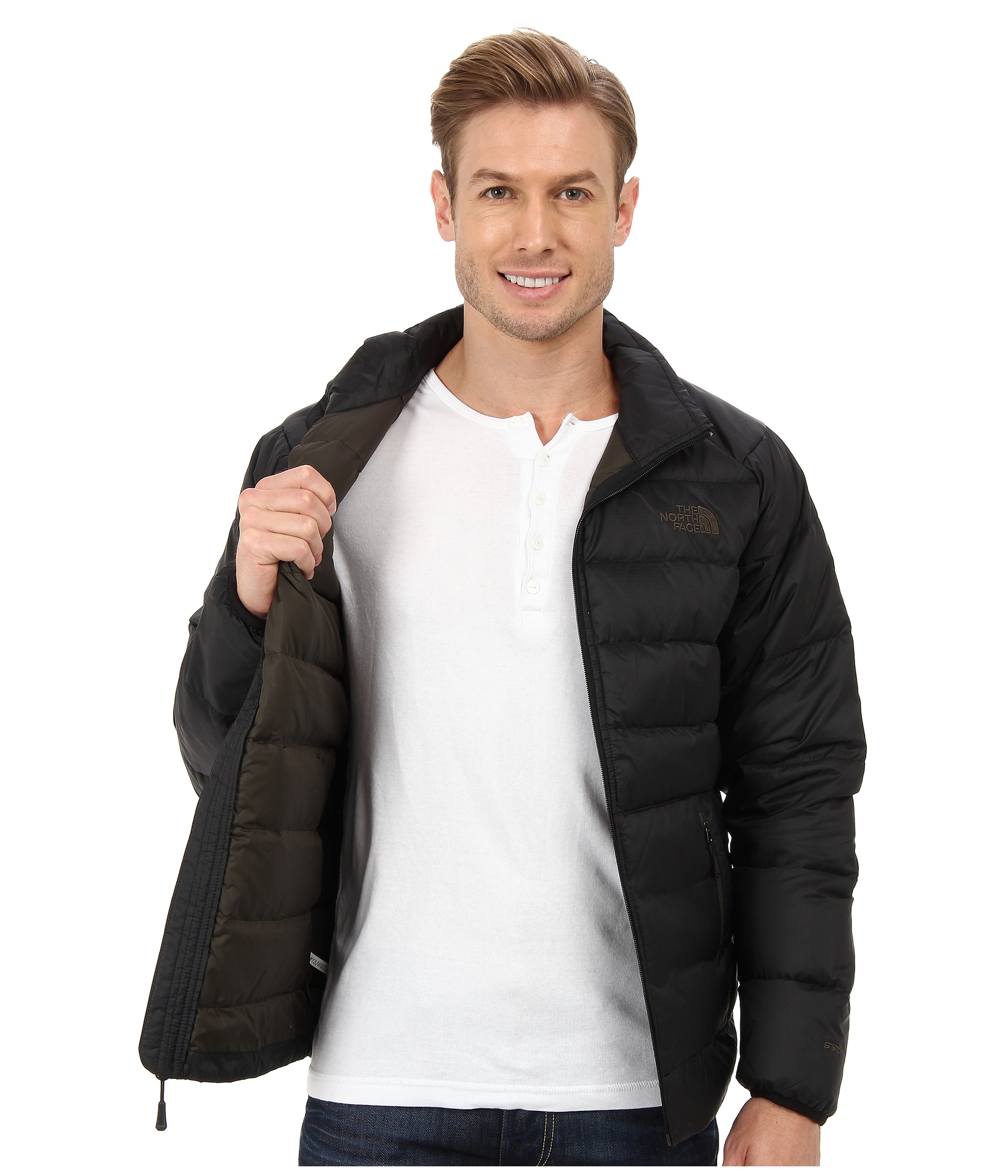 Lyst - The North Face Aconcagua Jacket in Black for Men ab83ea4f3