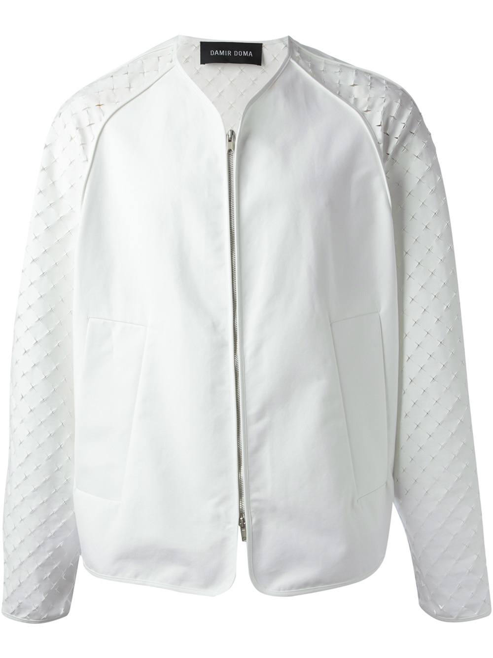 Damir doma Janusia Bomber Jacket in White for Men | Lyst